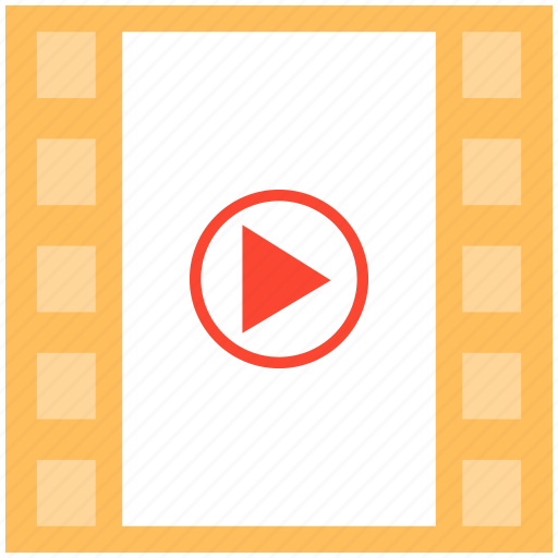 film, media, movie, multimedia, music, play, video icon