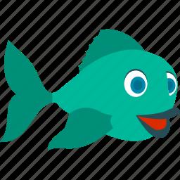 fish, fisherman, fishing, ocean, sea, water icon