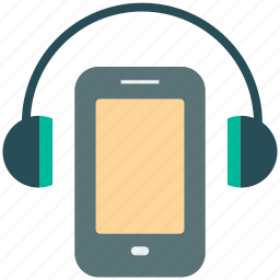 headphone, ipod music, media, mobile music, multimedia, music, sound icon