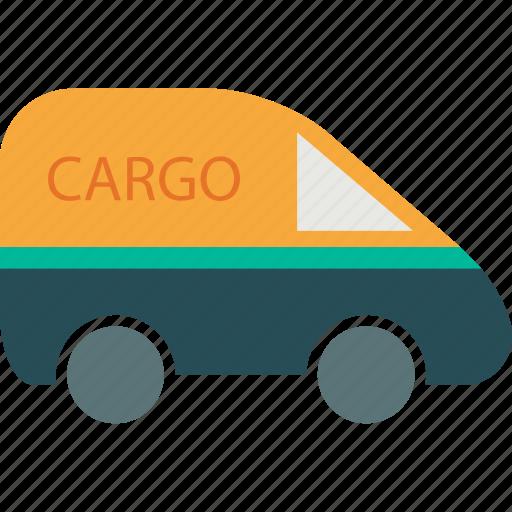 auto, automobile, cargo, cargo van, delivery, transport, vehicle icon