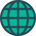 communication, global, international, internet, network, web, world globe icon
