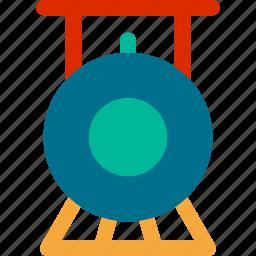metro, railway, subway, tourism, train, tram, travel icon