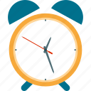 alarm, alarm clock, alert, attention, clock, time, timer icon