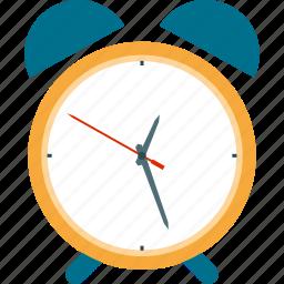 alarm, alarm clock, alert, attention, clock, time, timer icon