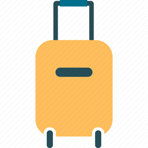 bag, baggage, briefcase, case, hand carry, luggage, suitcase icon