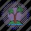 comics, exotic, nature, palm, plant, tree, tropical icon