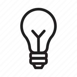 brainstorm, bulb, idea, light, light bulb, travelculture icon
