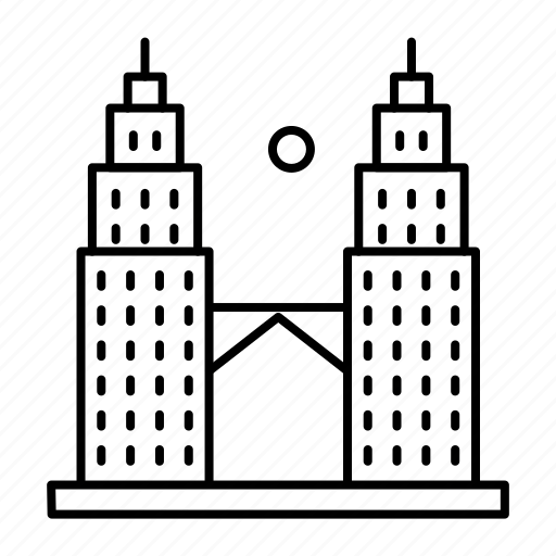 Kl tower, kuala, lumpur, malaysia icon - Download on Iconfinder