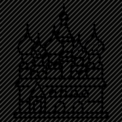 basilius, moscow, russia icon