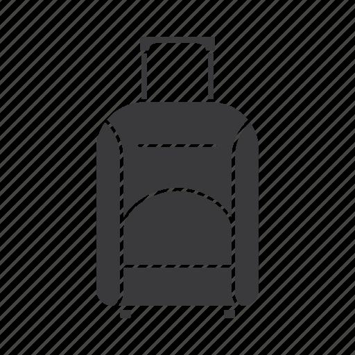 bag, baggage, briefcase, case, luggage, suitcase, trip icon