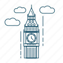 big ben, kingdom, london, uk, united