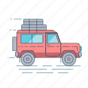 car, suv, transport, travel, vehicle icon