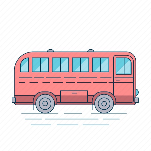 Bus, autobus, transport, travel, vehicle icon - Download on Iconfinder