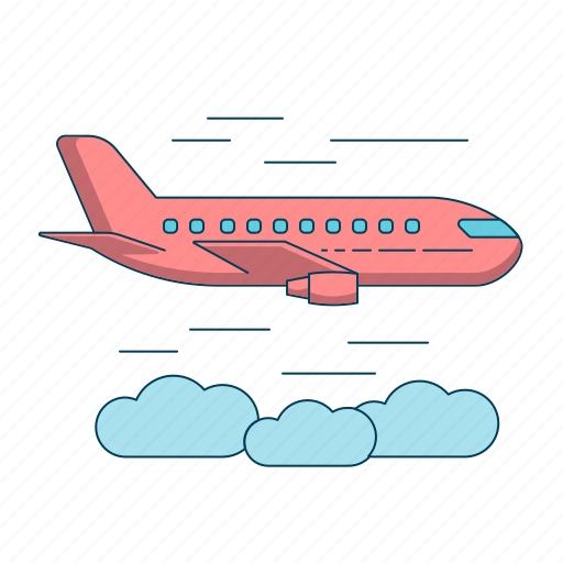 aircraft, airplane, aviation, flight, jet, plane icon