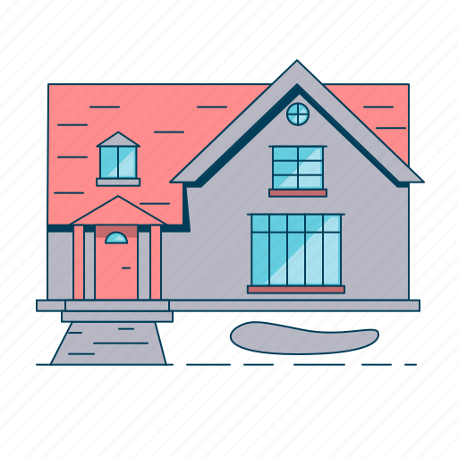 home, house, property, real estate icon
