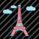 architecture, eiffel tower, france, paris