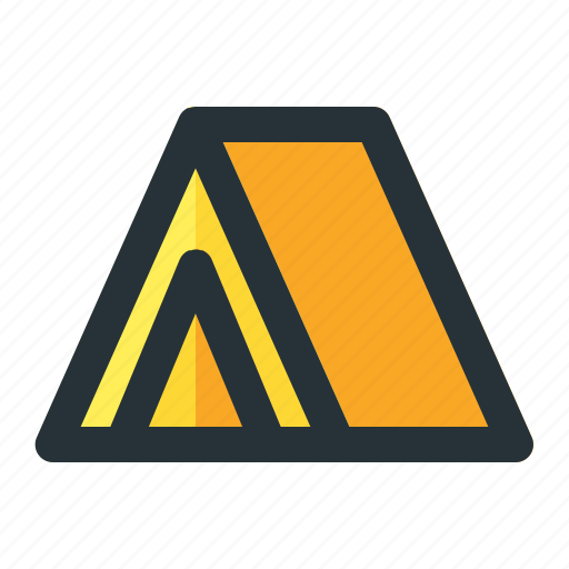 Adventure, camp, camping, tent, travel icon - Download on Iconfinder
