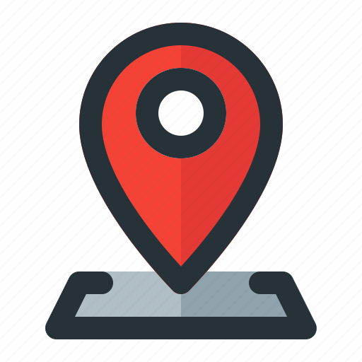 address, gps, location, map, navigation, pin icon
