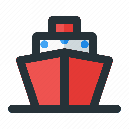Boat, cruise, sea, ship, vessel icon - Download on Iconfinder