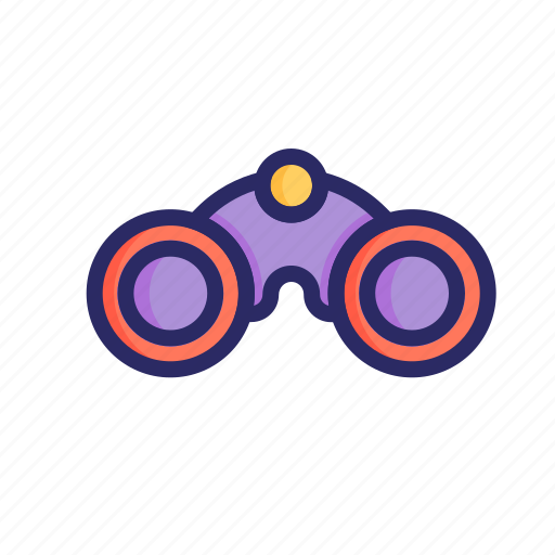 binocular, find, finding, glass, search, telescope, vision icon