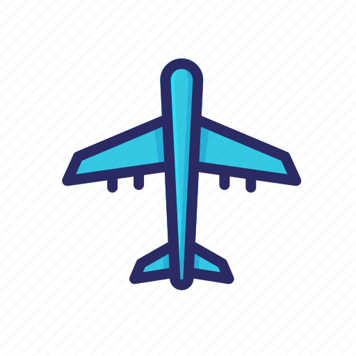 airplane, flight, holiday, jetplane, plane, travel, vehicle icon