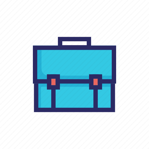 bag, baggage, briefcase, business, case, document, suitcase icon