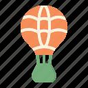 ballon, air, hot, fire icon