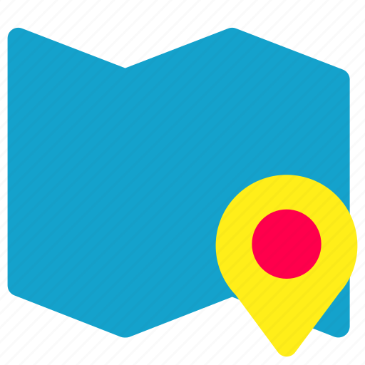 Location, map, pin, place icon - Download on Iconfinder