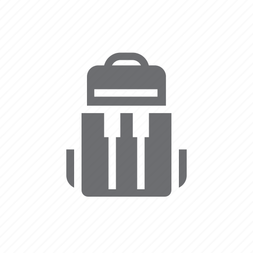 adventure, backpack, bag, bag icon, climbing, hiking, travel icon
