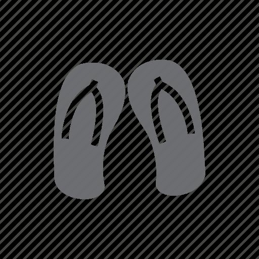 beach, footwear, holiday, sandal, shoe, travel, traveling icon