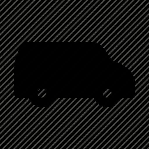 car, hotel, journey, travel, trip, van icon