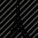 eiffel tower, europe, france, paris, travel, trip, vacation icon