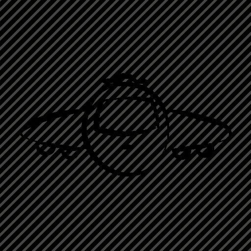 air travel, airplane, fly, hand drawn, plane icon