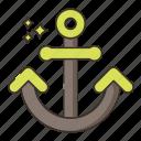 anchor, ship