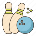 bowling pin, bowling, bowling ball