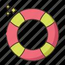 life buoy, life saver, lifebuoy, lifesaver icon