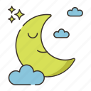 moon, moonlight icon