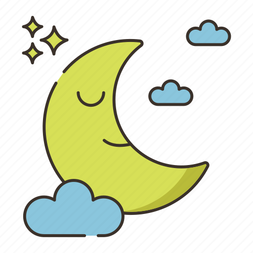 moon, moonlight icon