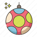 disco ball, party ball icon