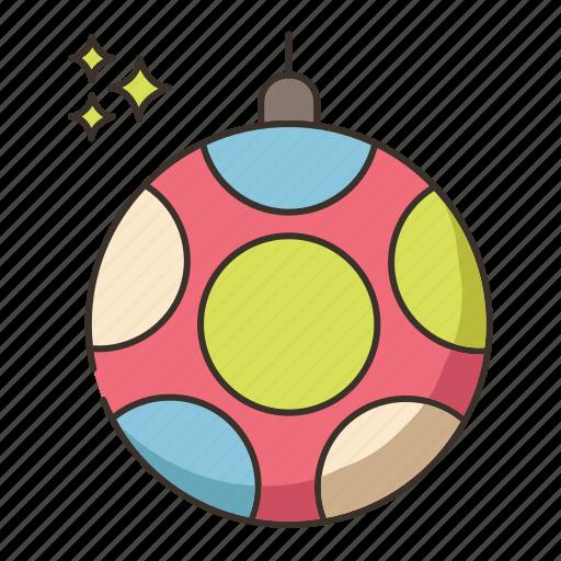 disco ball, party ball icon