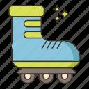 roller skate, skating, roller skating, roller, skate