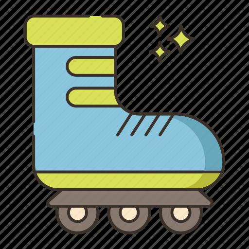 roller, roller skate, roller skating, skate, skating icon