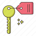key, room key icon
