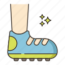 footwear, shoes, sport shoes icon