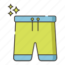 pants, shorts, trunks icon
