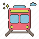 metro, rail, railway, subway, train icon