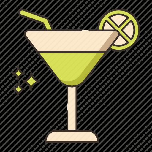 cocktail, drink, margarita, mojito icon