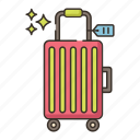 baggage, check in, luggage icon