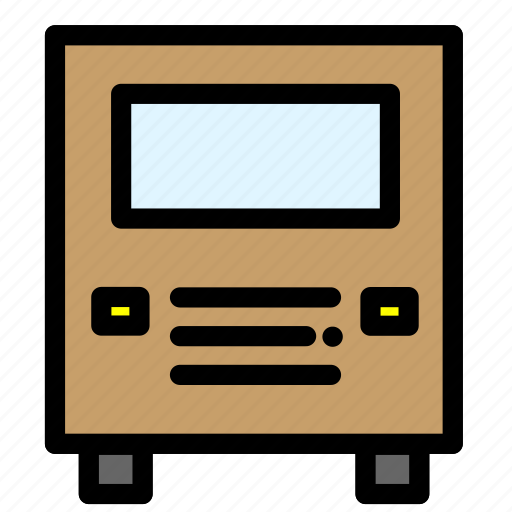 buss, transport, transportation, travel, wolksvagen icon