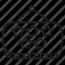five, star, hotel, hotel board, five star hotel five star board, hanging board, quality board